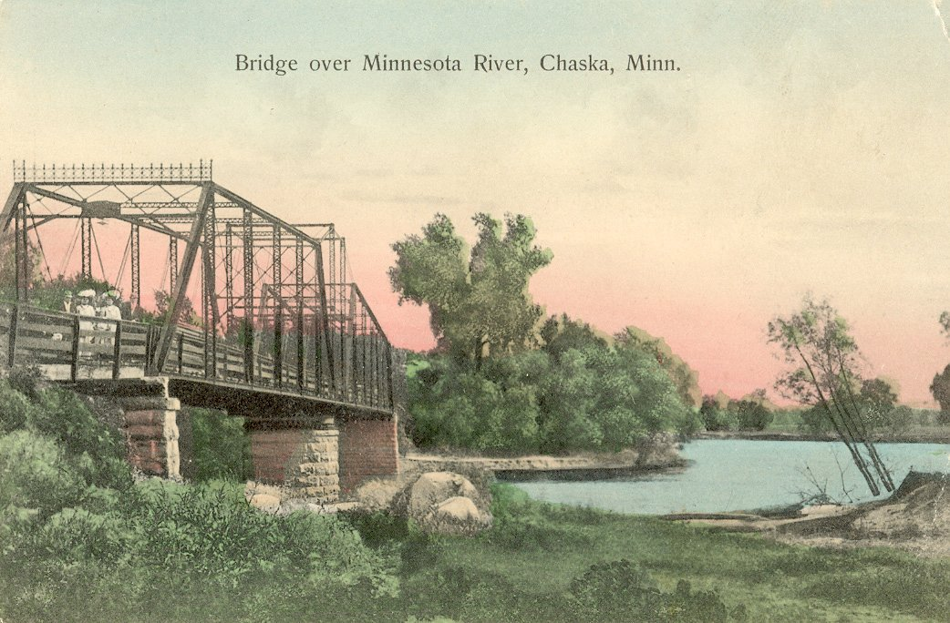 Chaska bridge over Minnesota River  Av10668