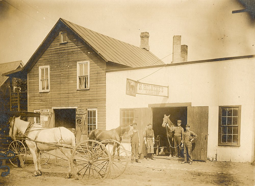 Helmeke Blacksmith Shop  Av11051