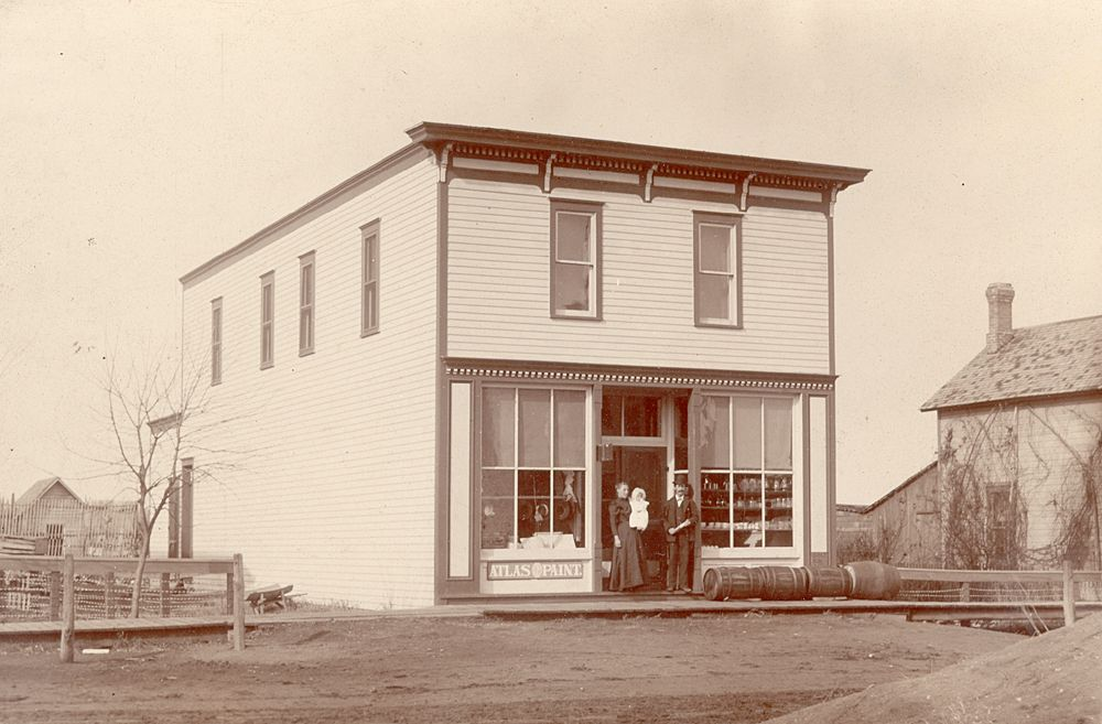 OD Sell's store, 1897