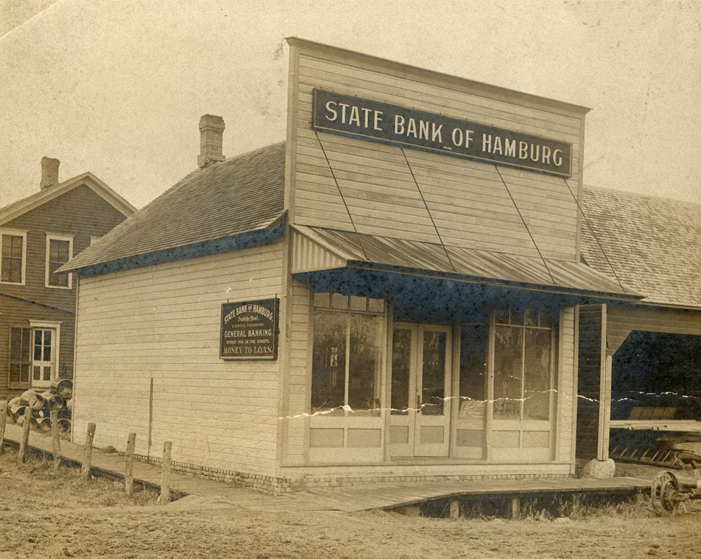 Hamburg State Bank, 1904