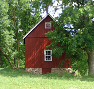 Andrew Peterson north barn after restoration